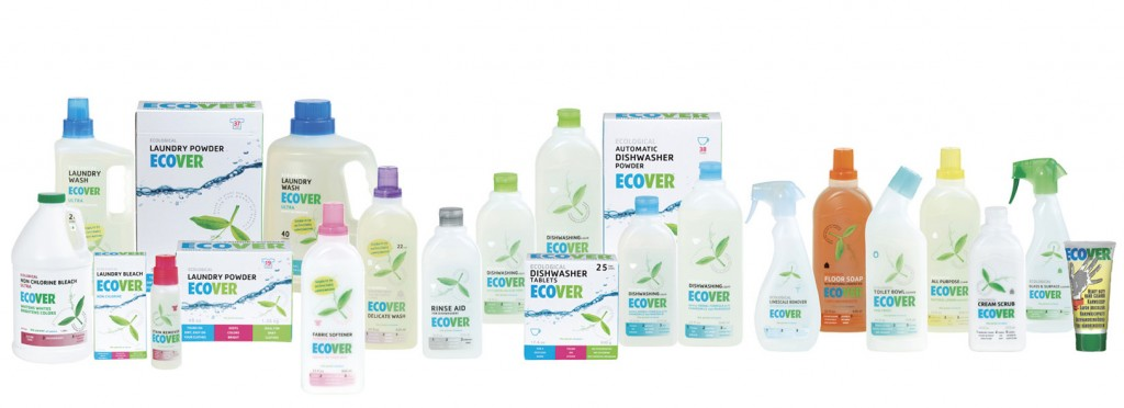 ecover, green household products, eco green, ethosolution products